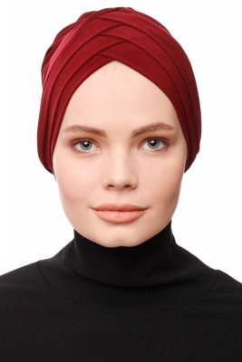 Gamze - Bordeaux Turban
