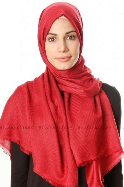 Caria - Bordeaux Hijab - Madame Polo